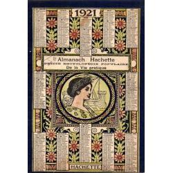 Almanach Hachette - 1921